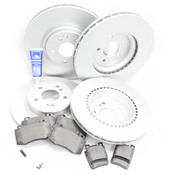 Mercedes Brake Kit Comprehensive - Zimmermann R129FRBK1