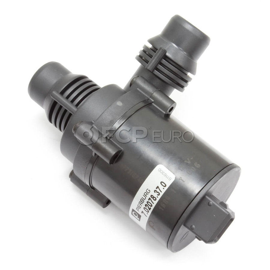 BMW Auxiliary Water Pump - Pierburg 7.02078.37.0