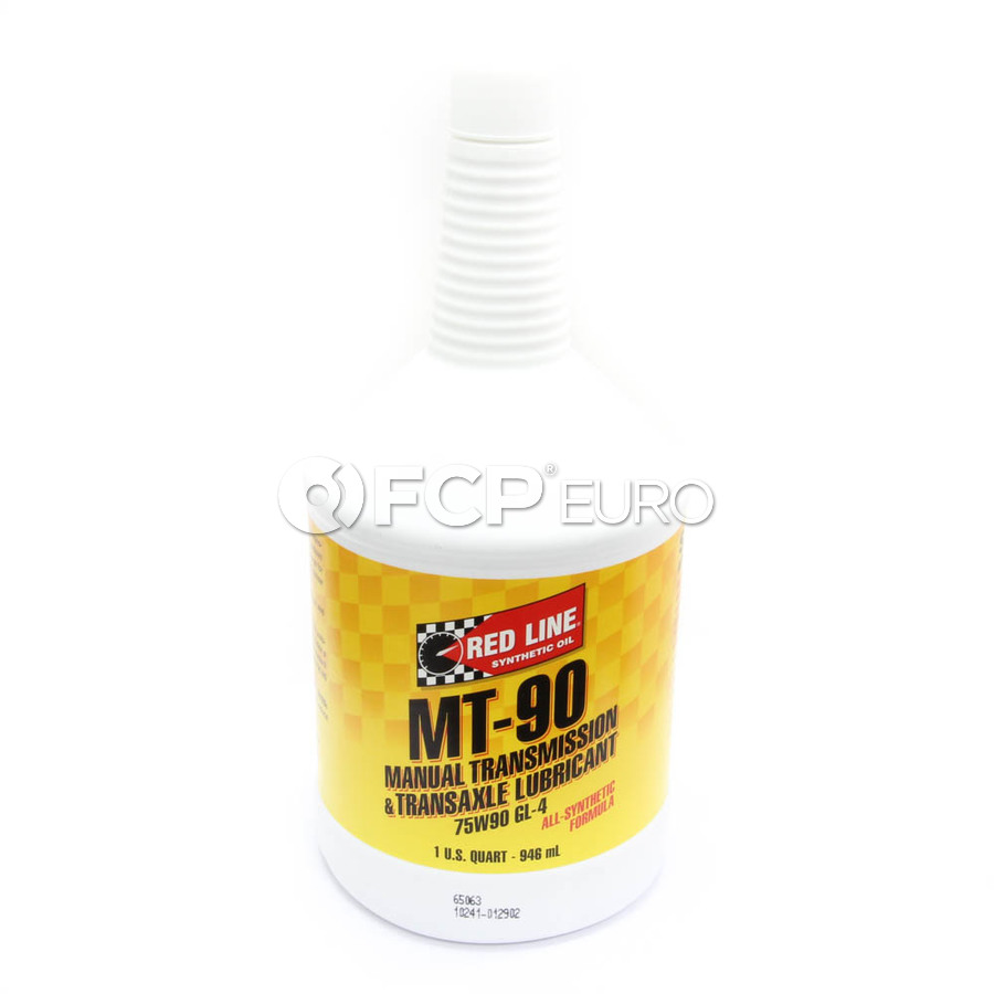 75W90 MT-90 GL-4 Gear Oil (1 Quart) - Red Line 50304