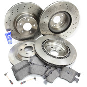 Mercedes Brake Kit Comprehensive (S500) - Zimmermann W220SPTLATEFRBK