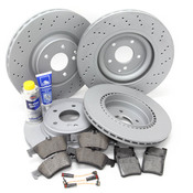 Mercedes Brake Kit Comprehensive (C32 C55 AMG) - W203AMGFULLBK1