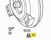 Mercedes Automatic Transmission Torque Converter Drain Plug (M8) - Genuine Mercedes 0019901117