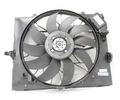 BMW Engine Cooling Fan Assembly (M5 M6) - Mahle Behr 17422282936