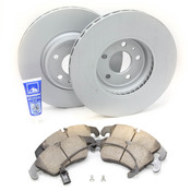 Audi VW Brake Kit - Zimmermann/Akebono B8BKZIMM