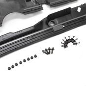 BMW Windshield Cowl Cover Kit (E39 525i 528i 530i) - 51718159292KIT3