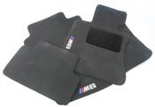 BMW Floor Mat (M6 Anthra) - Genuine BMW 82110416739