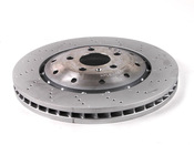 Audi Brake Disc - Genuine VW Audi 420615301D