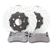 Mercedes Brake Kit - Brembo SL65AMGLATEFBK1
