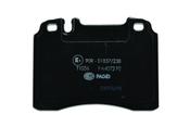 Mercedes Brake Pad Set - Pagid 0014209420