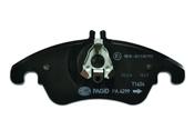Mercedes Brake Pad Set - Pagid 0074205820