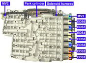 Mechatronic Solenoid Kit (6HP21 6HP28) - ZF 1068298047