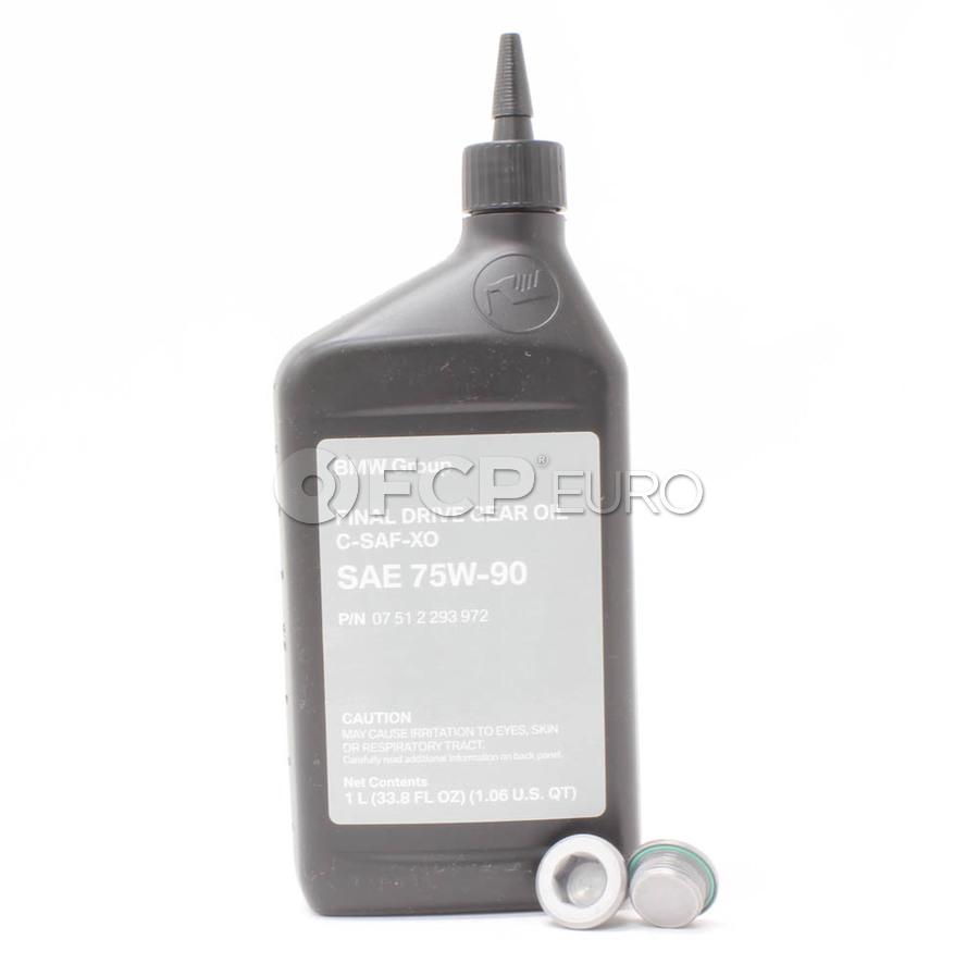 BMW Differential Service Kit 75W90 - Genuine BMW 33117525064KT5