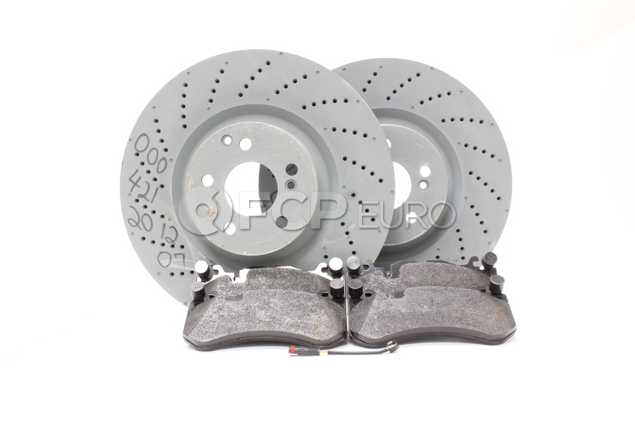 Mercedes Brake Kit - Zimmermann W204AMGFBK1
