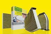 Mercedes Plus Cabin Air Filter - MANN 2128300318