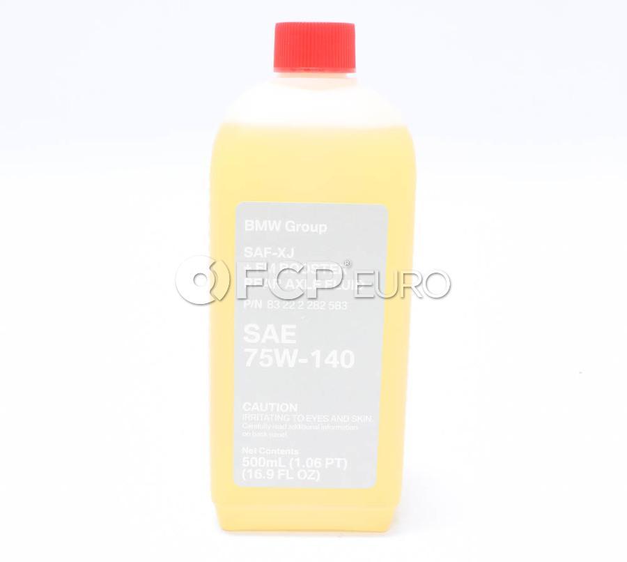 BMW 75W140 SAF XJ+FM Motorsport Differential Fluid (.5 Liters) - Genuine BMW 83222282583