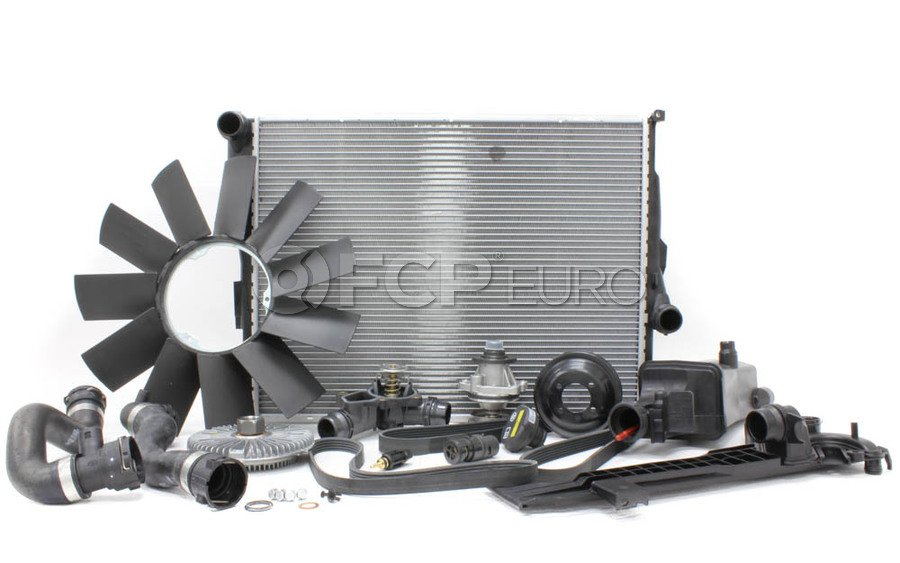 BMW E46 Cooling System Overhaul Kit - OE Supplier 376716271KT3