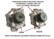 Volvo Water Pump - Aisin WPV800