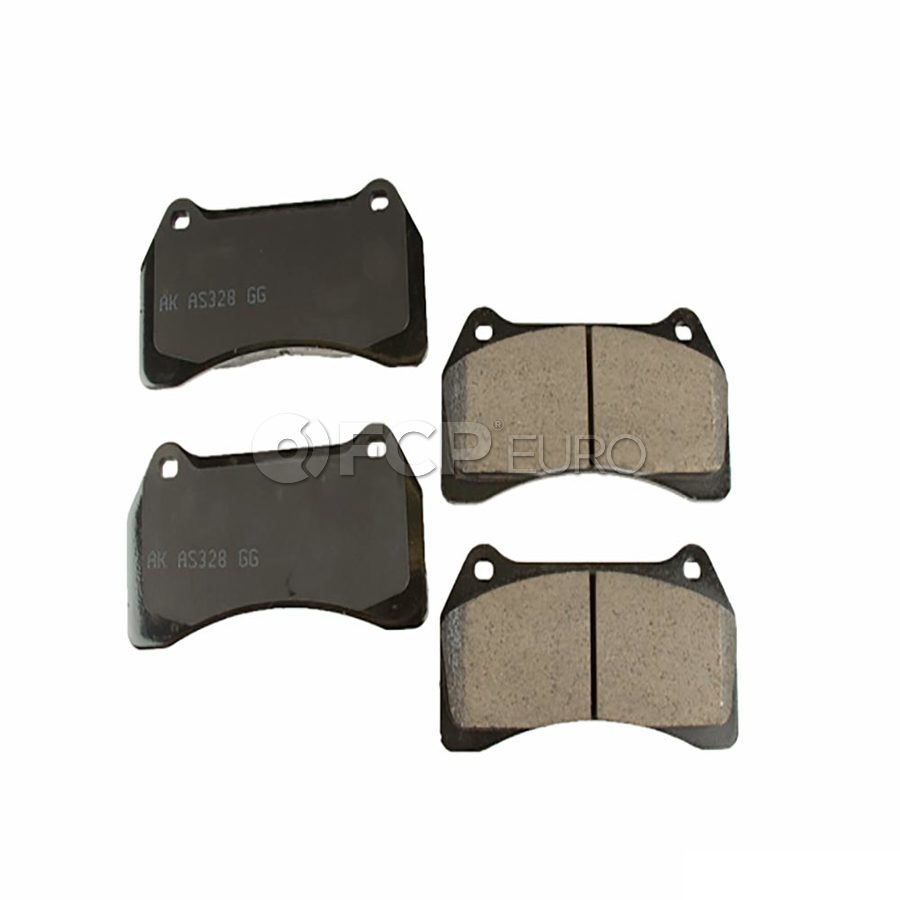 Jaguar Brake Pad Set - Akebono EUR938