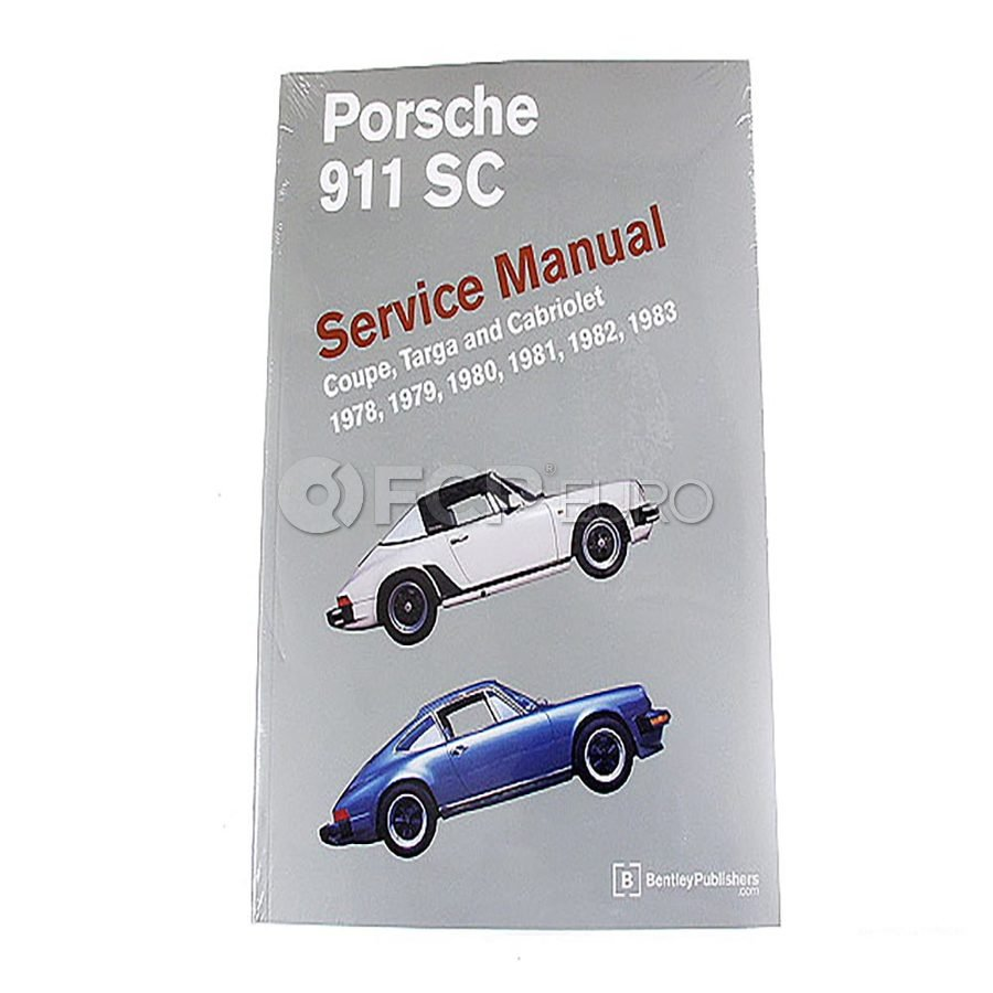 Porsche Repair Manual - Bentley P983