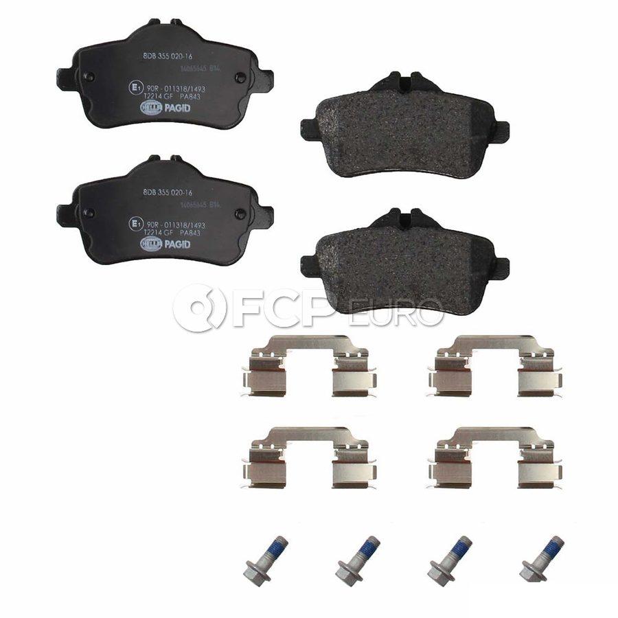 Mercedes Brake Pad Set - Ferodo 0074208620