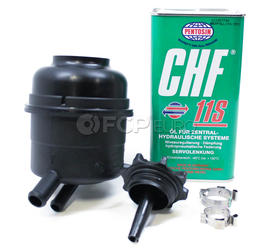 Bmw Power Steering Reservoir Kit 32416851218kt Fcp Euro