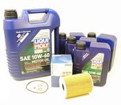 BMW Oil Change Kit 10W-60 - Liqui Moly 11427837997KT2.LM