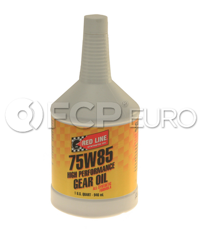 75W85 GL-5 Gear Oil (1 Quart) - Red Line 50104
