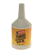 75W85 GL-5 Gear Oil (1 Quart) - Red Line 50104