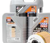 BMW Oil Change Kit - Liqui Moly/Mahle 11421730389KT1