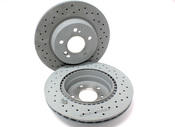 Mercedes Brake Upgrade Kit - Genuine Mercedes SLVRARROW