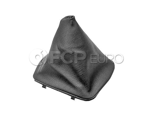 BMW Imitation Leather Gear Lever Cover (Black) (318i 323i 325i 328i) - Genuine BMW 25111221665