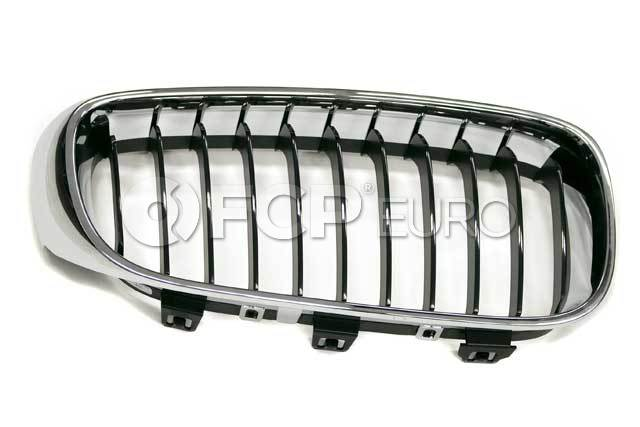 BMW Grille Front Right (Basis) (328i GT xDrive 335i GT xDrive) - Genuine BMW 51137294804