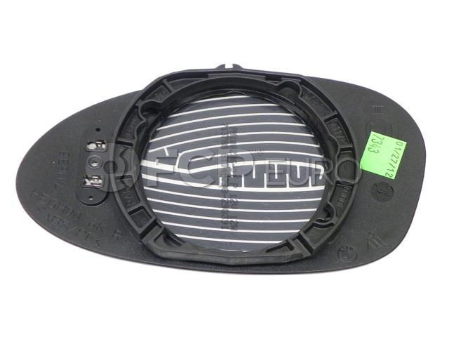 BMW Heated Convex Door Mirror Glass Right (E85 E86) - Genuine BMW 51167112588