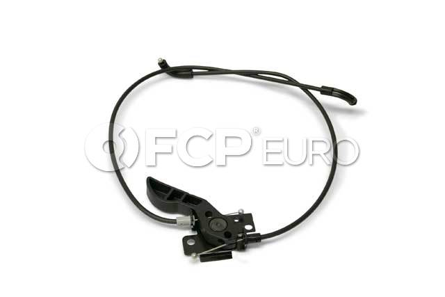 BMW Hood Release Cable - Genuine BMW 51237183765