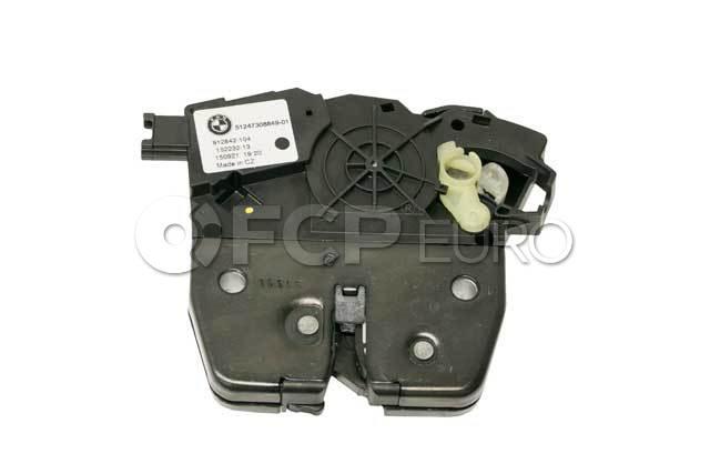 BMW Trunk Lock Actuator Motor (X5) - Genuine BMW 51247308849