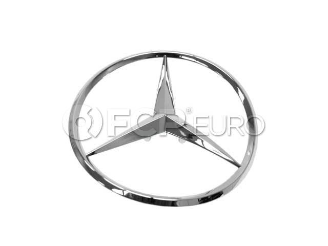 Mercedes Trunk Lid Emblem - Genuine Mercedes 2027580358