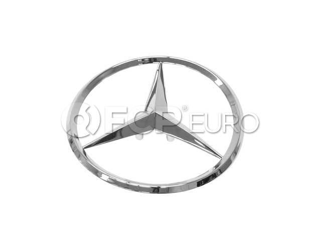 Mercedes Trunk Lid Emblem - Genuine Mercedes 1707580058
