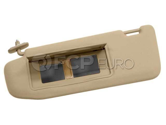 Mercedes Sun Visor Left (S430 S500 S55 AMG S600) - Genuine Mercedes 22081007101A21