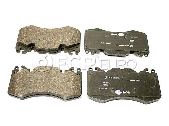 PSM Premium Semi-Metallic Brake Pad Set fits Front 2011 Land Rover LR2 Notes: 300mm Diameter Rotor