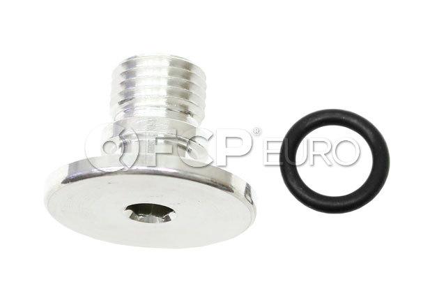 Porsche Engine Oil Filter Cover Drain Plug - Genuine Porsche WHT000897A