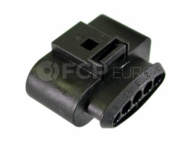 Audi VW Ignition Coil Connector 5-Pin - Genuine VW Audi4D0973725