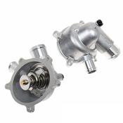 Audi Coolant Thermostat Housing - Genuine Audi VW 079121115AT