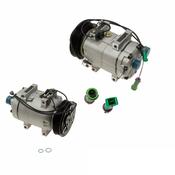 Audi A/C Compressor - Nissens 4A0260805D