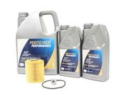 BMW 5W30 Oil Change Kit- Pentosin 11427854445KT3