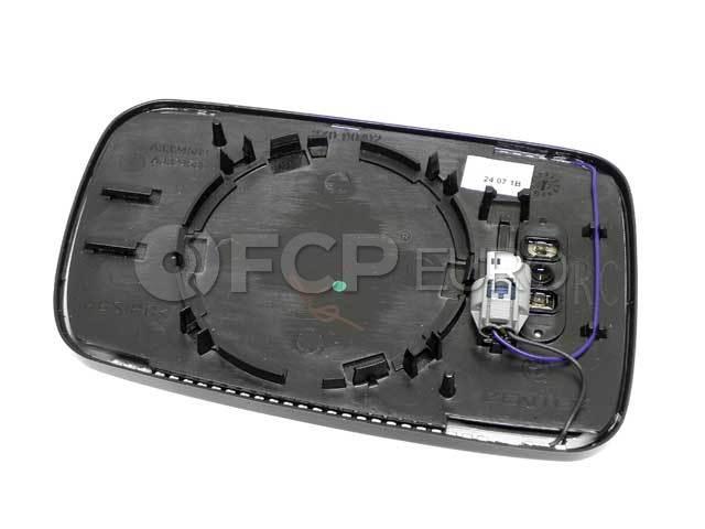 BMW Mirror Glass Heated Convex Right (745i 750i 760i) - Genuine BMW 51167028438