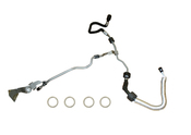 BMW Power Steering Return Hose (550i) - Rein 32416773989