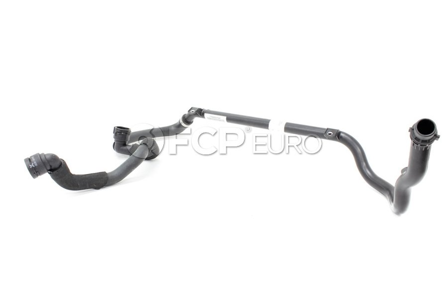 BMW Coolant Recovery Tank Hose Lower - Genuine BMW 17127544557