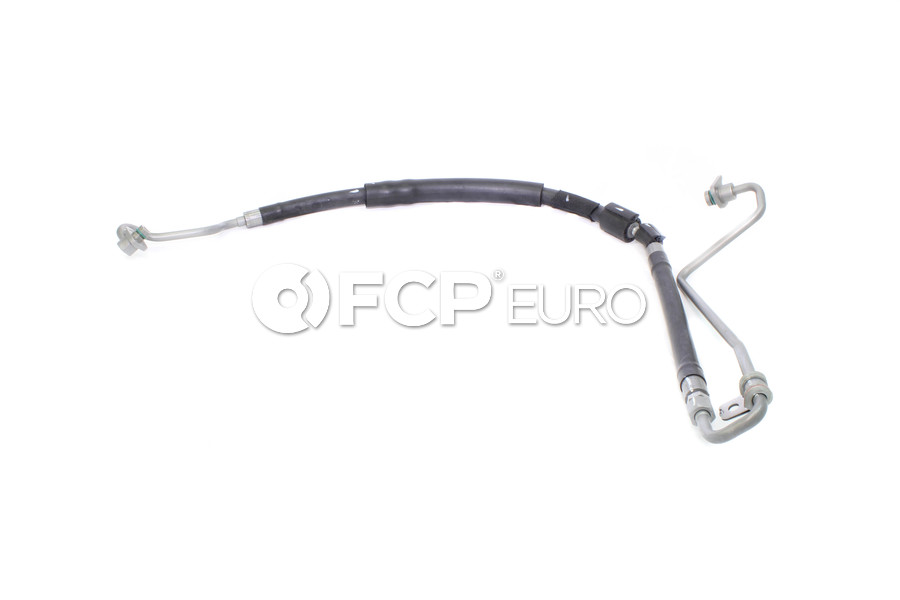 Audi Power Steering Pressure Hose - Genuine VW Audi 8K1422893CL