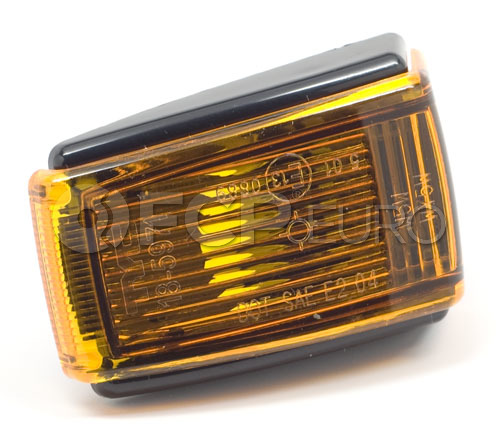 Volvo Side Marker Light Assembly (Amber) - Pro Parts 9133609