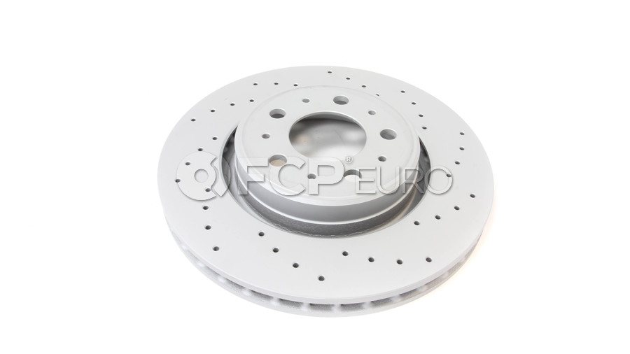 """Volvo Brake Disc 11.89"""" - Zimmermann Sport 31262095"""